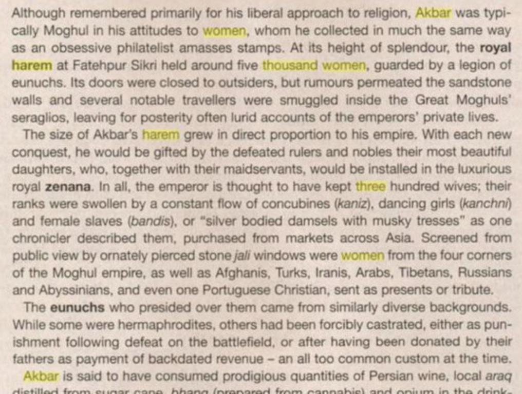 Akbar Jodha story was fake