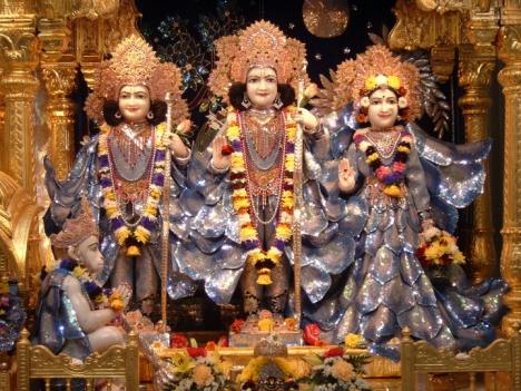 Rama Sita and Laxman