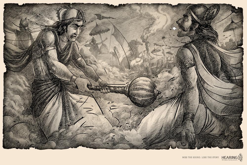 Duryodhana's promise to Arjuna