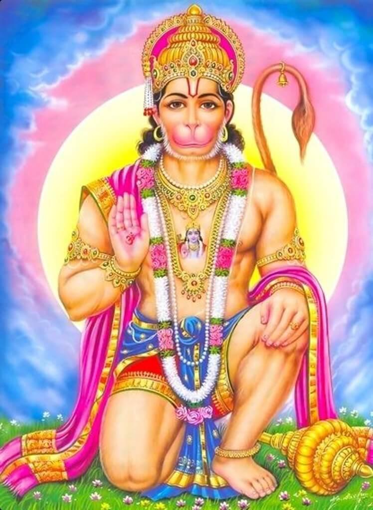Hindi mantra हनुमान दर्शन हेतु मंत्र