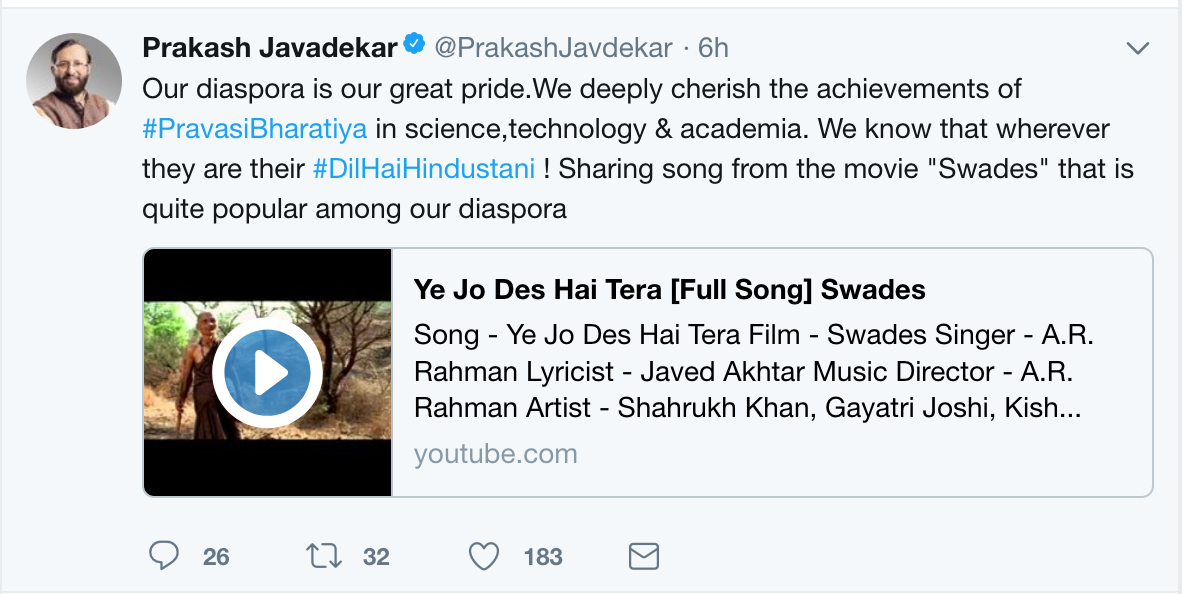 Prakash Jawadekar has proved to be incompetent