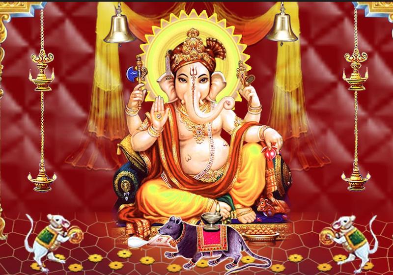 Ganesha Angaraki Story
